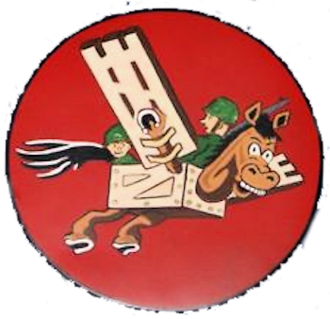 11th Airlift Flight - Image: 11th Troop Carrier Squadron Emblem