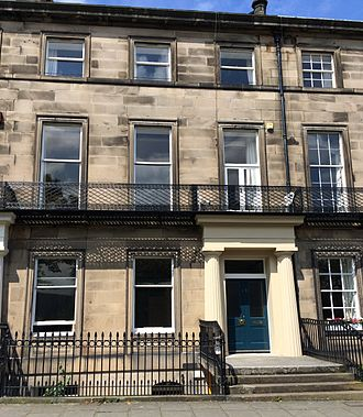 George Baird (minister) - 13 Regent Terrace, Edinburgh, home of George Husband Baird