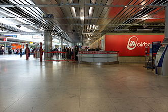 Nuremberg Airport - Check-in area