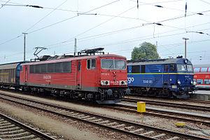 Cottbus–Guben railway - Trains at Cottbus station in 2014