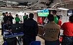171101-N-MT837-0054 Sailors watch game seven of the World Series.JPG