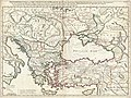 1715 De L'Isle Map of the Eastern Roman Empire under Constantine (Asia Minor, Black Sea, Balkans) - Geographicus - ImperiiOrientalis-delisle-1715.jpg