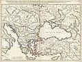 1715 De L'Isle Map of the Eastern Roman Empire under Constantine (Asia Minor, Black Sea, Balkans) - Geographicus - ImperiiOrientalis-delisle-1715.jpg