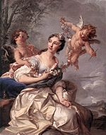 1731 Portrait of Madame de Conti as Venus by Noël Nicolas Coypel.jpg
