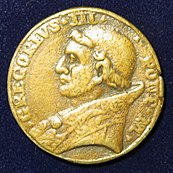 Gregory III - Pope Medal of the 8th Century - Obverse