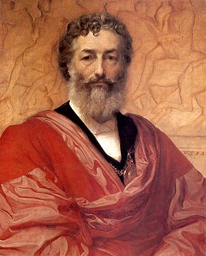 Frederic Leighton - Self portrait of Leighton (1880)