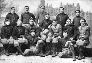 1895 college football season - 1895 Penn Quakers