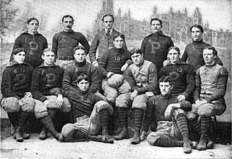 1895 Penn Quakers football team - Image: 1895 Penn Quakers (team picture)