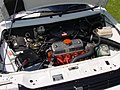 189 - September 1989 white Austin Metro 1.3 GTa engine bay with A-series engine.jpg