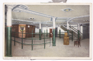 18th Street (IRT Lexington Avenue Line) - Entrance area with ticket booth and control