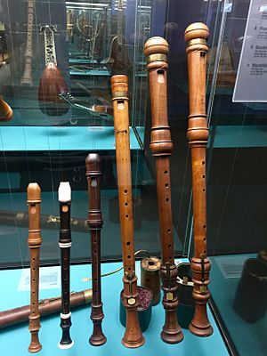 Jacob Denner - 18th century recorders by Denner et al from Das Germanische Nationalmuseum Nürnberg