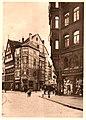 1913 Dirk Jan van der Ven Hannover in Panorama, Karl F. Wunder, Friedrich Astholz, het kleinste Huis.jpg