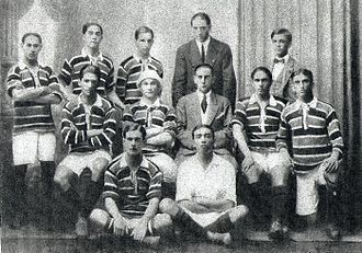 Clube de Regatas do Flamengo - The Flamengo team of 1914, when the club won its first Carioca championship.