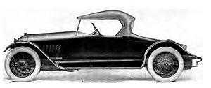 Premier Motor Manufacturing Company - 1916 Premier Roadster 6-56