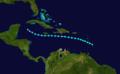 1918 Atlantic tropical storm 6 track.png