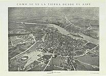 1925-03-00, Aérea, Cómo se ve la tierra desde el aire, Zamora vista desde un globo, Aerostación militar.jpg