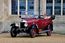 A bullnose Morris, the car that made Morris's name and fortune.