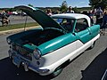 1956 Nash Metropolitan hardtop at 2015 MD-MVA show 1of2.jpg