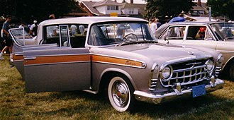 Muscle car - America's fastest 1957 sedan: Rambler Rebel had lightweight unibody construction and V8 engine