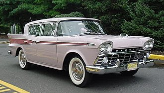 Rambler Six and V8 - 1959 Rambler Six sedan