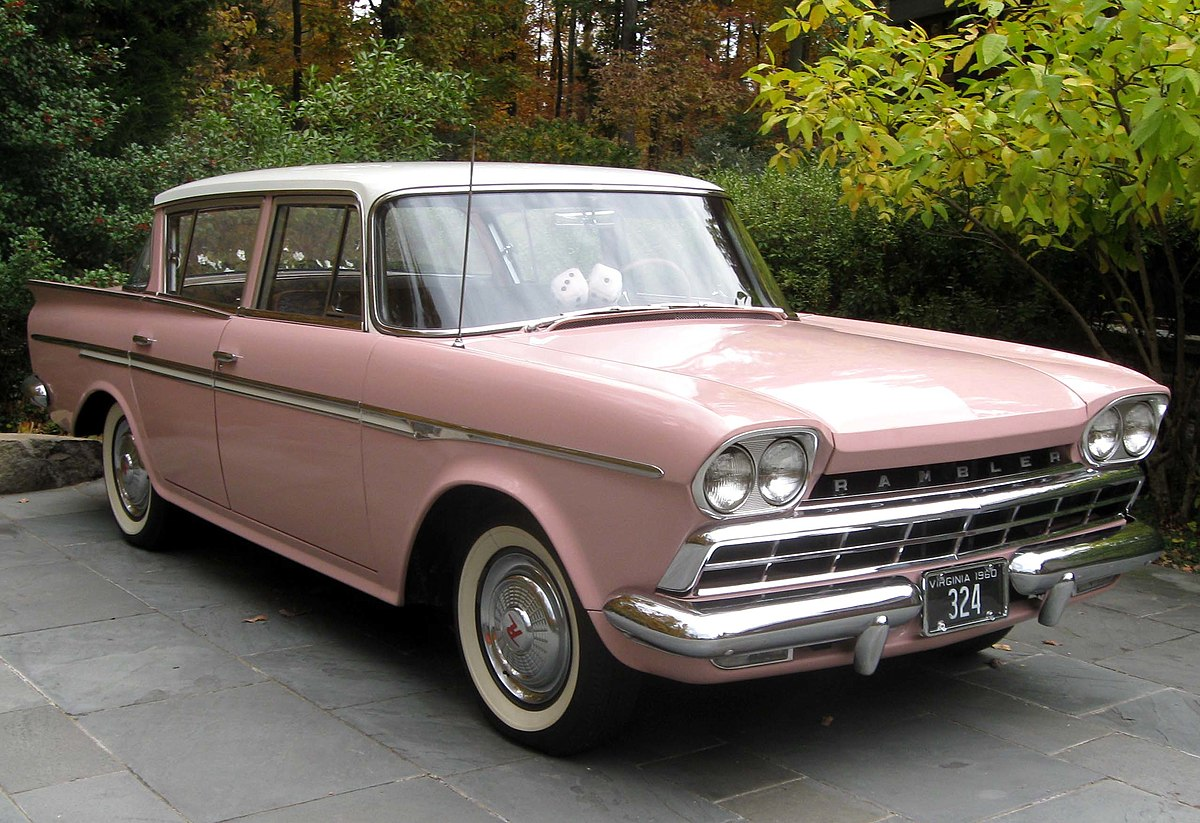 Rambler six and v8 wikipedia for American classic motors for sale