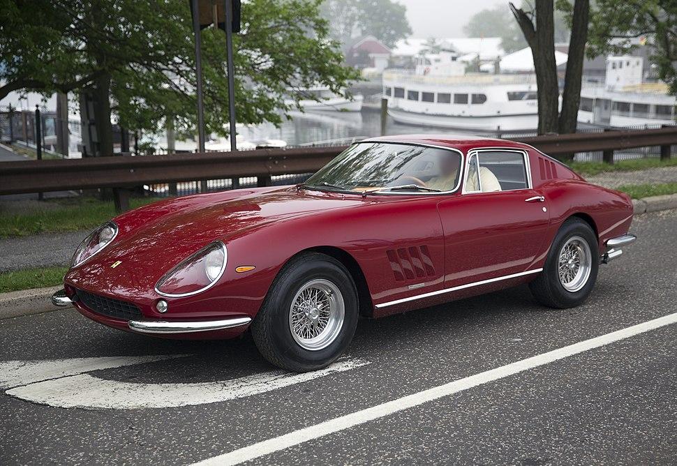 1966 Ferrari 275 GTB sn 08549, front left (Greenwich 2019)