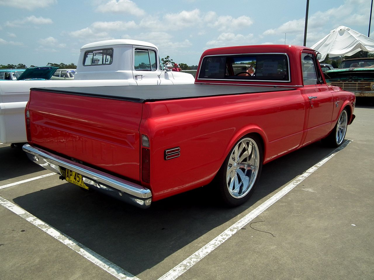 All Chevy chevy c10 wiki : File:1968 Chevrolet C-10 pickup (12403914435).jpg - Wikimedia Commons