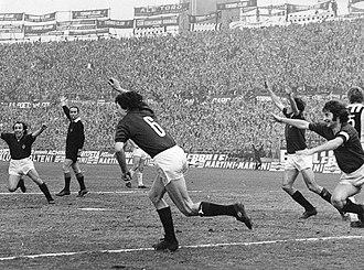 Aldo Agroppi - 1971–72 Serie A - Torino v Juventus - Agroppi rejoice after his goal