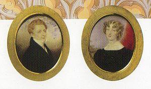 Mortimer Lewis - Mortimer Lewis and his wife Elizabeth