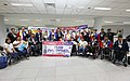 1st batch Philippine Asian Para Games 2018 team NAIA arrival.jpg