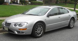 2002-2004 Chrysler 300M photographed in Fort W...