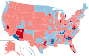 United States House of Representatives elections, 2002 - Image: 2002 House Elections in the United States