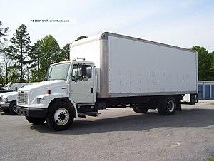 Freightliner Business Class (FL-Series) - 2003 Freightliner FL70 with van body