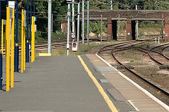 St Albans City railway station - Image: 20050828 001 st albans station