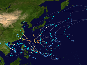 2005 Pacific typhoon season summary map.png