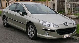 Peugeot 407 Motor vehicle