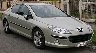 Peugeot 407 - Image: 2005 Peugeot 407 ST H Di Executive sedan (2015 07 09) 01