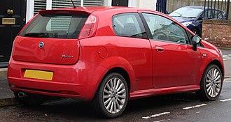 Fiat Grande Punto - Fiat Punto (three door) hatchback