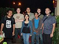 2007 film crew for Truth in Numbers with Wikipedians in Jakarta, Indonesia.jpg