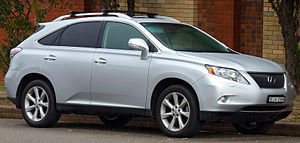 2009-2010 Lexus RX 350 (GGL15R) Sports Luxury wagon 01.jpg