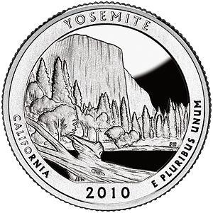 America the Beautiful Quarters - Yosemite quarter
