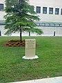 2011 06 03 Hospital de La Plana. Monument pel desé aniversari.jpg