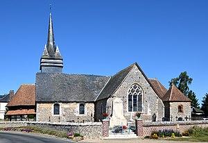Beauficel-en-Lyons - Image: 2012 DSC 0236 Eglise de Beauficel en Lyons