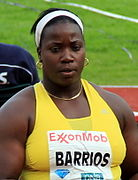 Barrios bei den Bislett Games, 2012