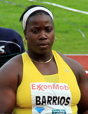 Yarelys Barrios - Barrios at the 2012 Bislett Games