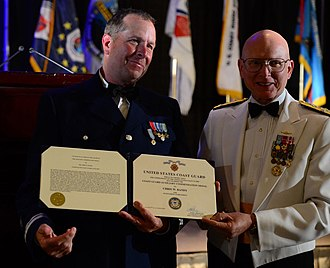 United States Coast Guard Auxiliary - Image: 2012 Coast Guard Auxiliarist of the Year