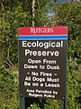 2013-05-05 09 18 57 Sign for the Rutgers Ecological Preserve.jpg