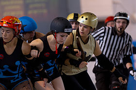 Image illustrative de l'article Roller derby