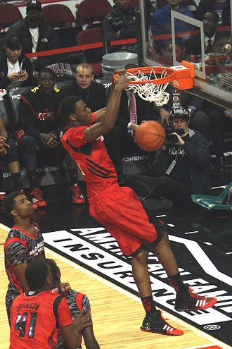 Andrew Wiggins - Wiggins dunking in the 2013 McDonald's All-American Boys Game