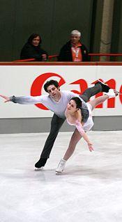 Rockne Brubaker American pair skater